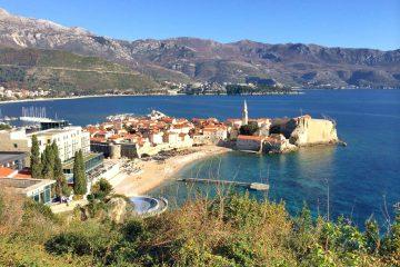 Budva Old Town Beach, Montenegro