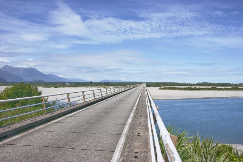 Haast River Bridge; New Zealand Itinerary
