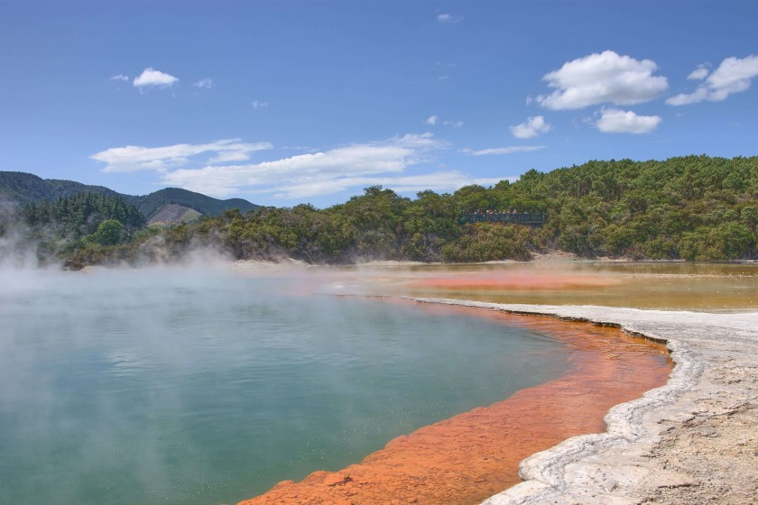 Wai-O-Tapu Thermal Wonderland; New Zealand Itinerary