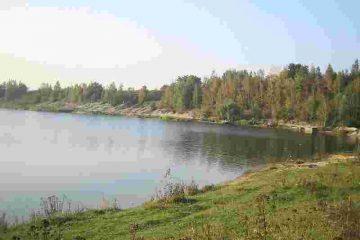 Kryspinów lake