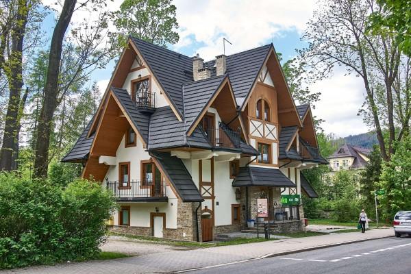 Private Wooden House Architecture in Zakopane