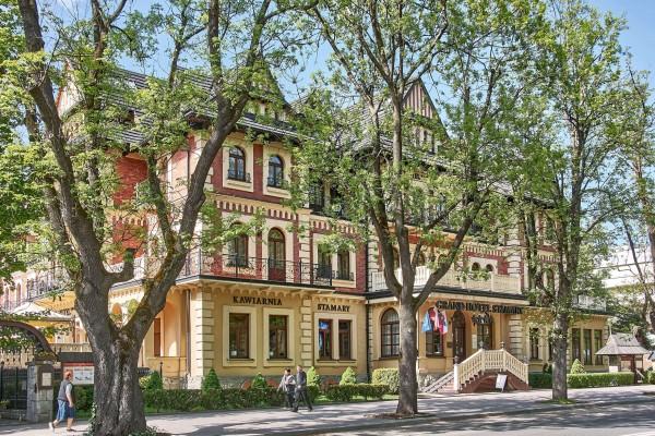 Grand Hotel Stamary Opens in new window in Zakopane Centre