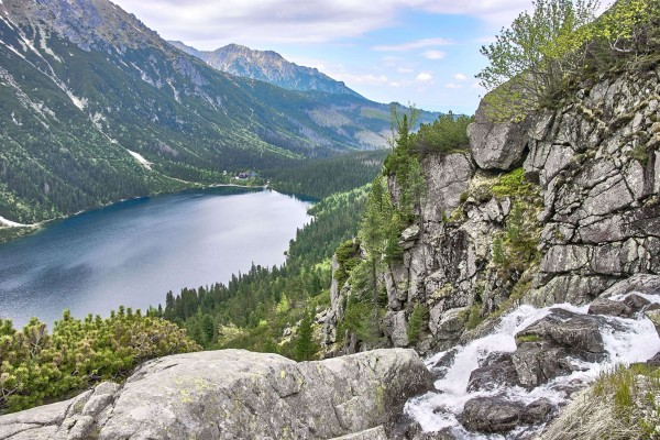 Morskie Oko in Tatras Mountain