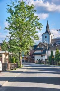 Church in Poronin, Poland