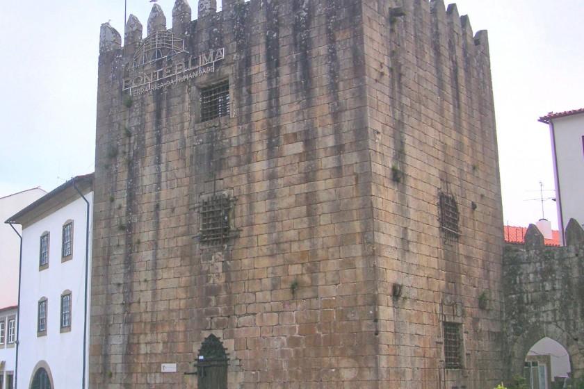 The pretty historic centre of Ponte de Lima and the Torre da Cadeia Velha