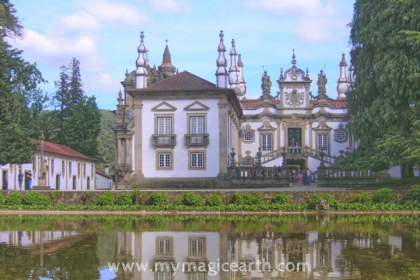 The Casa de Mateus, Vila Real, Portugal