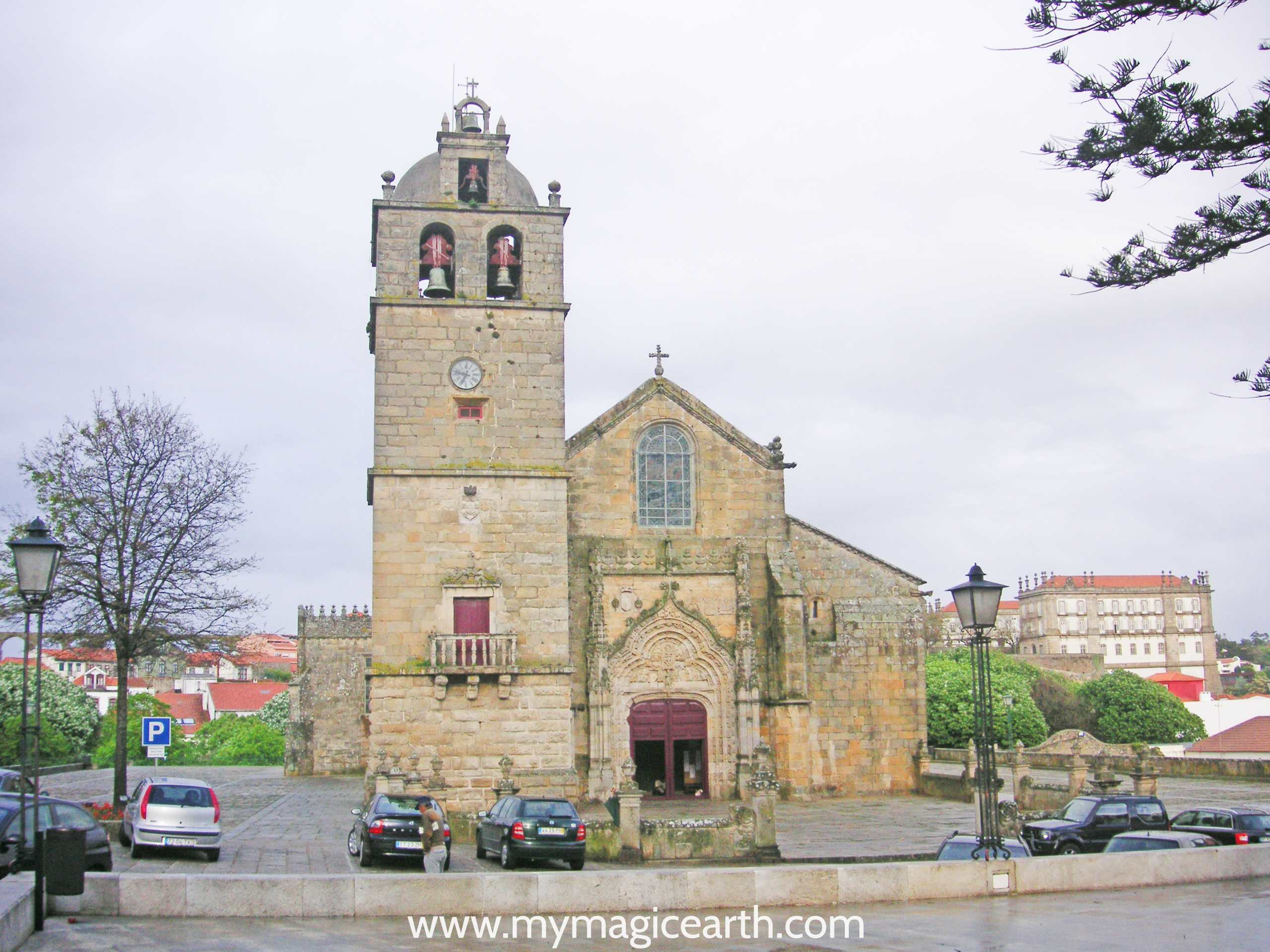"Portugal Church ""Matriz"", Vila do Conde, near Porto"