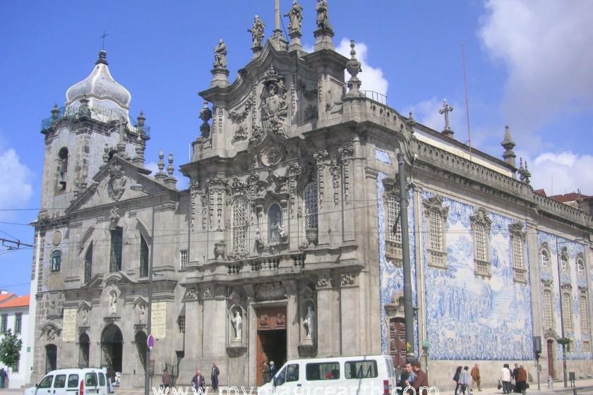 Igreja dos Carmelitas in Porto, Portugal