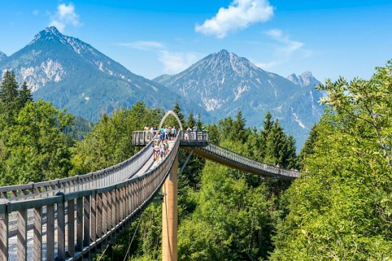 Treetop Walkway in Füssen, Germany