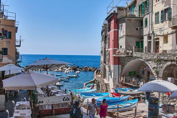 Harbour front, Riomaggiore, Cinque Terre