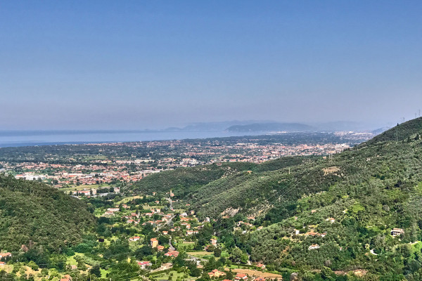 Coastal view from Le Tre Terrazze