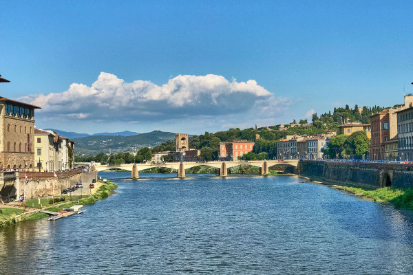 Bridge in Florence, Tuscany
