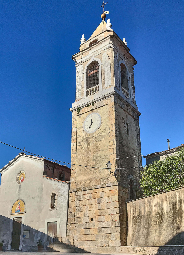 the church of Saint Stephen in Monteggiori, Tuscany