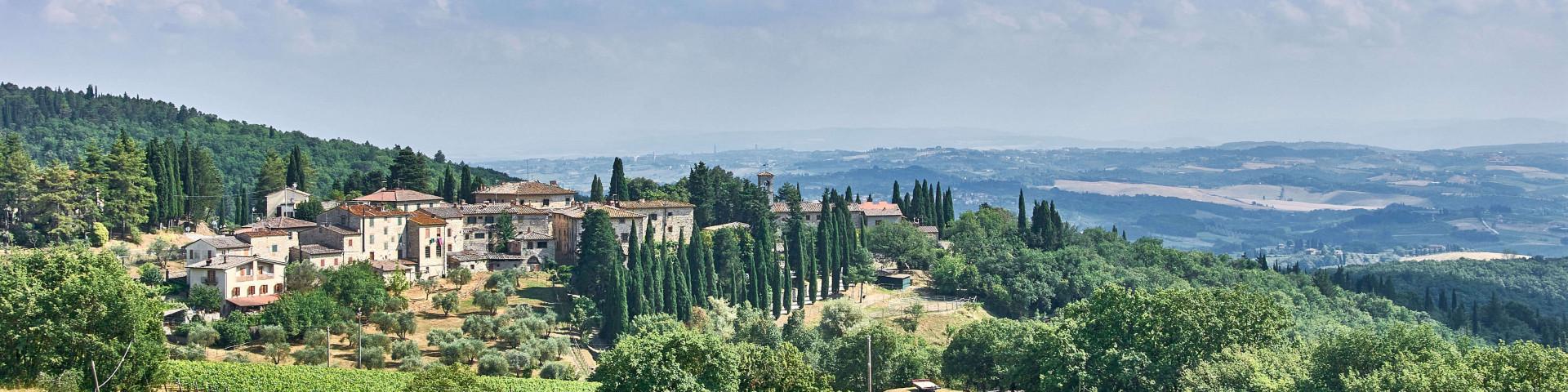 Chianti countryside, Tuscany summer itinerary