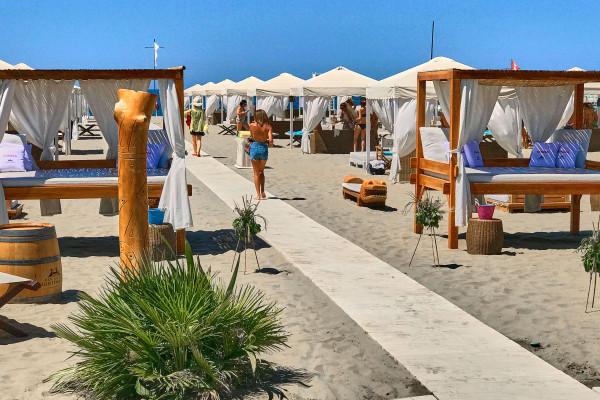 Luxury Italian Beach Club