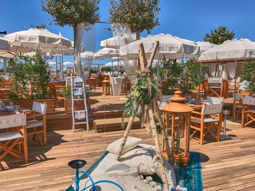 Nikki beach club -- a luxury Italian beach club