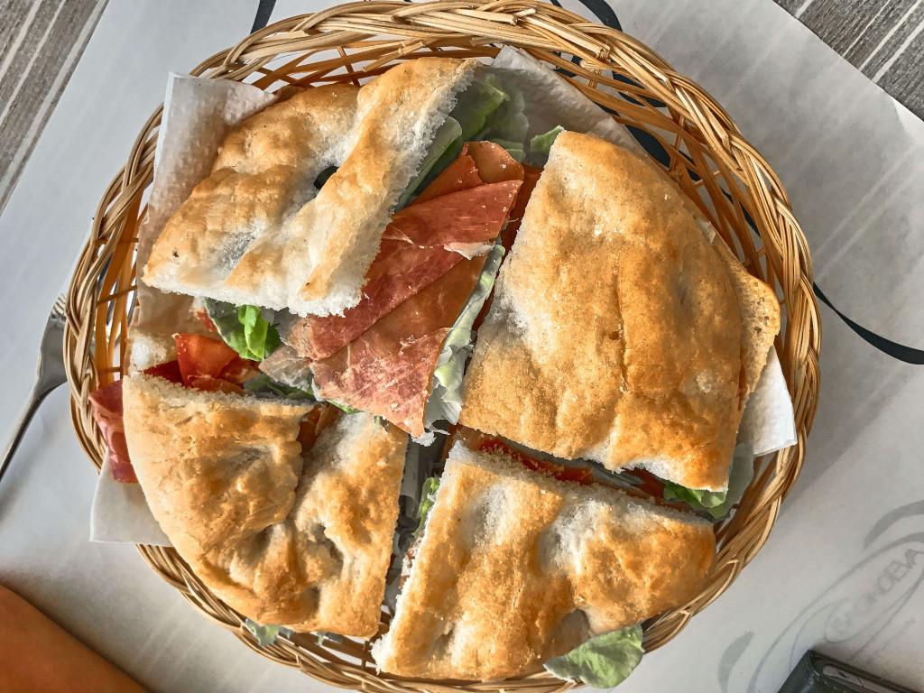Palma Ham and Salad Sandwich