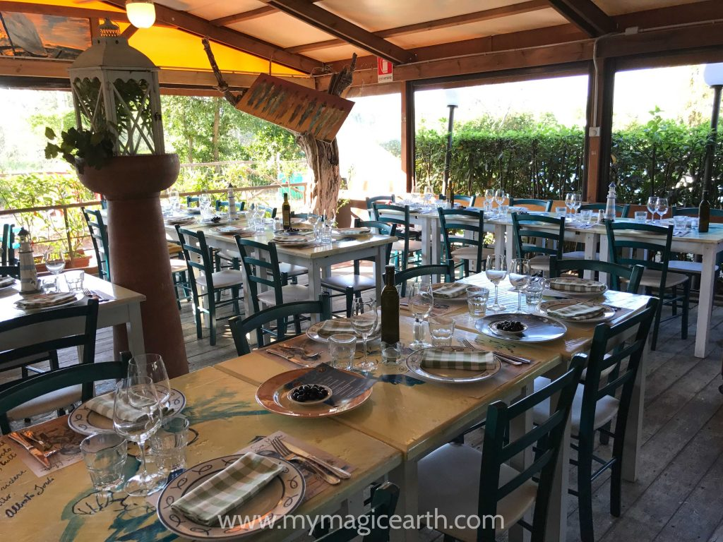 Other types of italian restaurants, San Martino Pesceria Osteria Pizzeria along Chianti Route, Tuscany