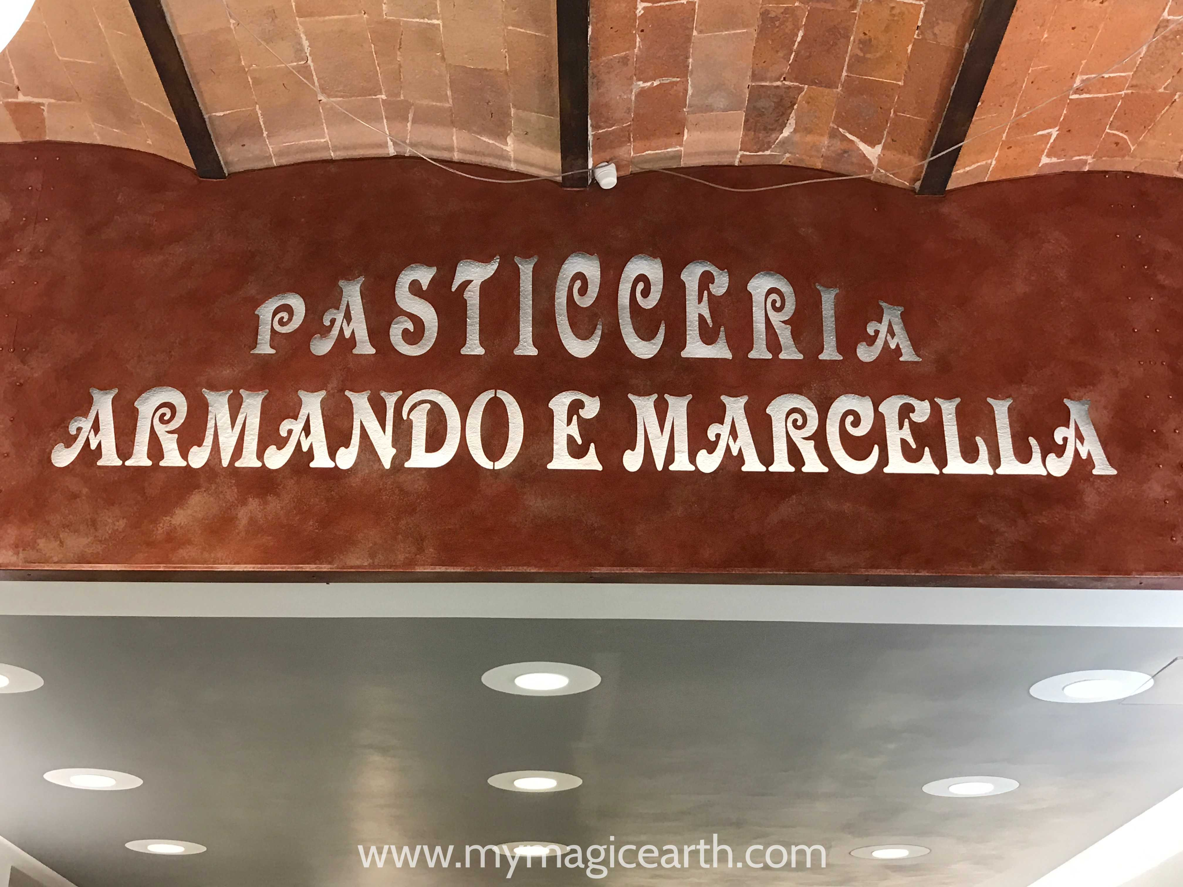 A Pasticceria in San Gimigiano, Tuscany