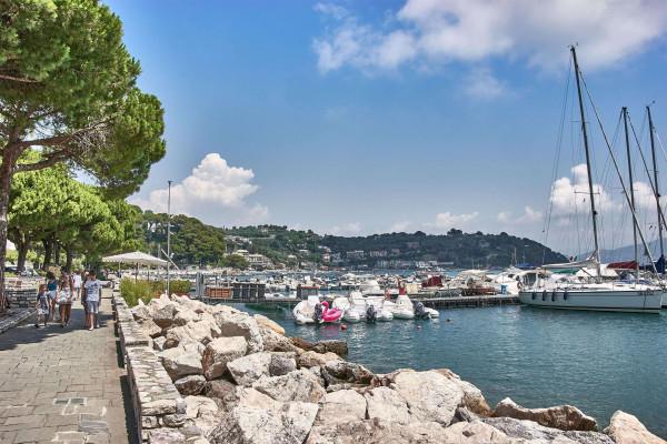 Harbour view of Portovenere, Italay