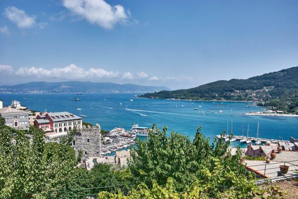 Coastal view of Portovenere, Italy