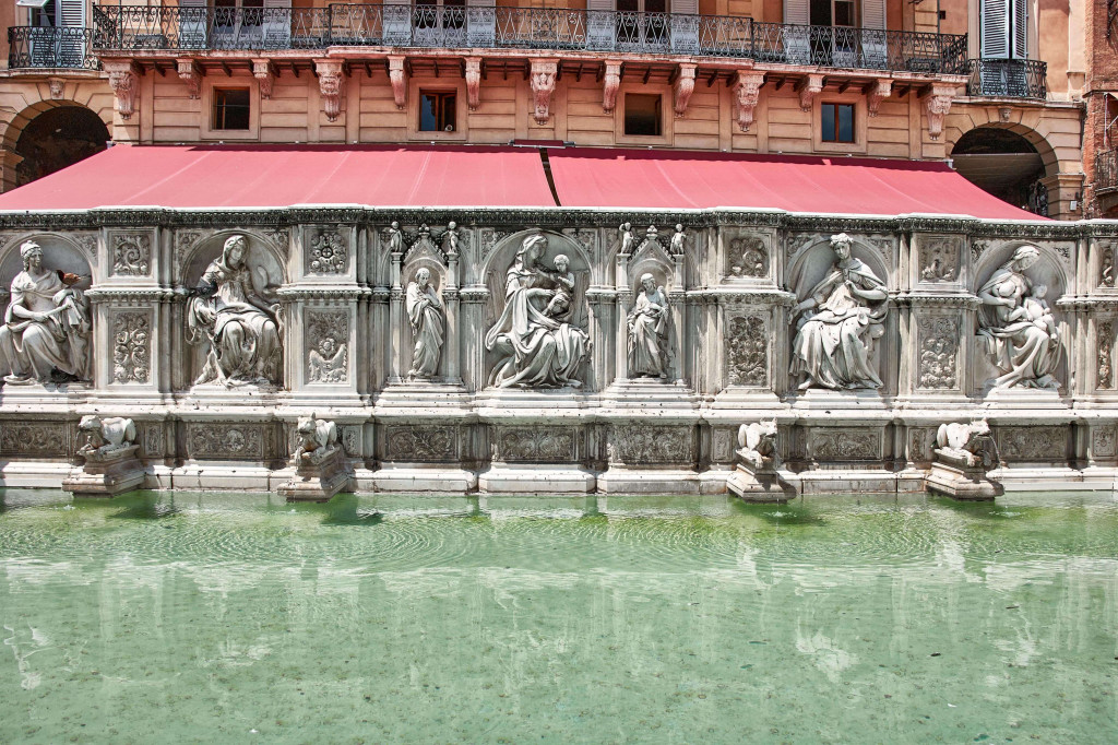 Fonte Gaia, the engineering miracle of Siena