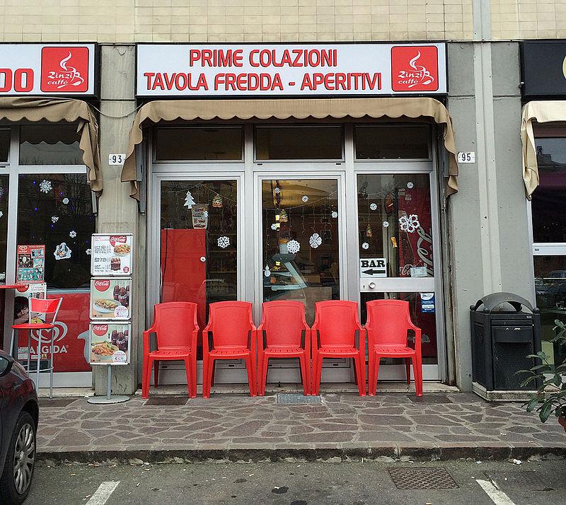 Tavola Calda, a type of Italian restaurants