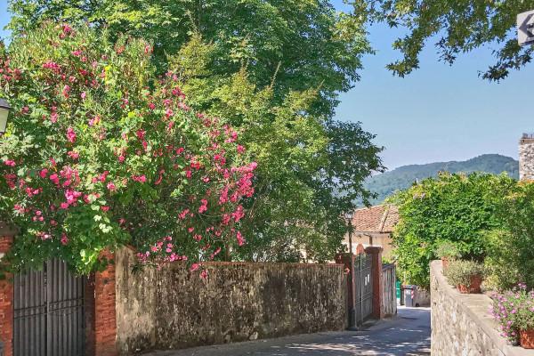 A silent neighbourhood in Serravalle Pistoiese, Tuscany Italy