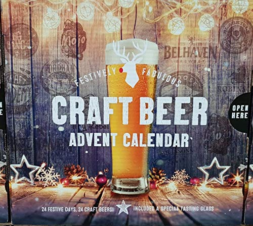 24 Bottle Craft Beer Advent Calendar 2018