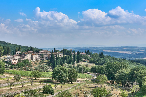 Chianti wine route, Tuscany Italay