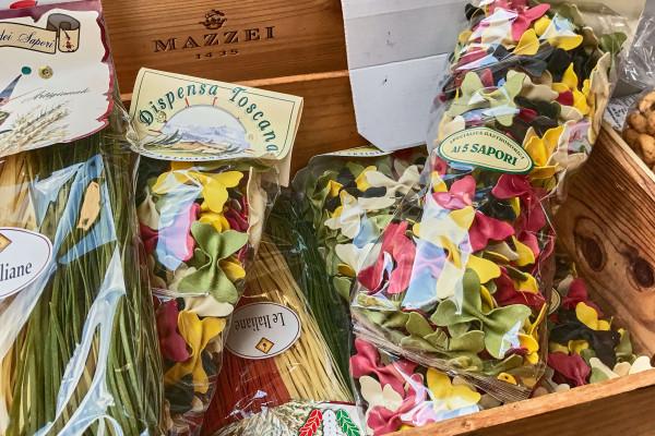Local pasta product, Castellina in Chianti