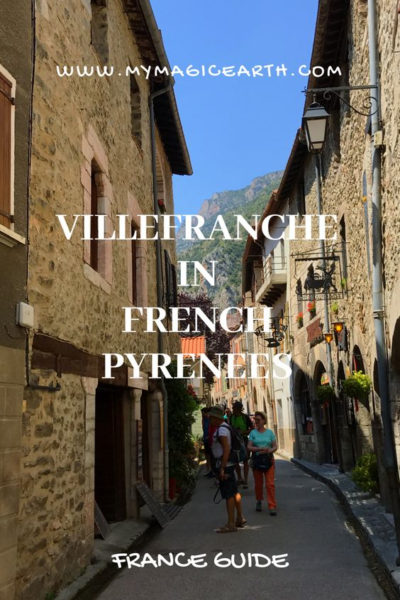 Villefranche-de-Conflent is situated at about 440 metres above sea level. In a deep valley, it is surrounded by two rivers, the Cady and the Tet. #europe #travel #france #pyrenees #train #trip #villefranche #beautifultown #unesco #travelguide #villefranchedeconflent
