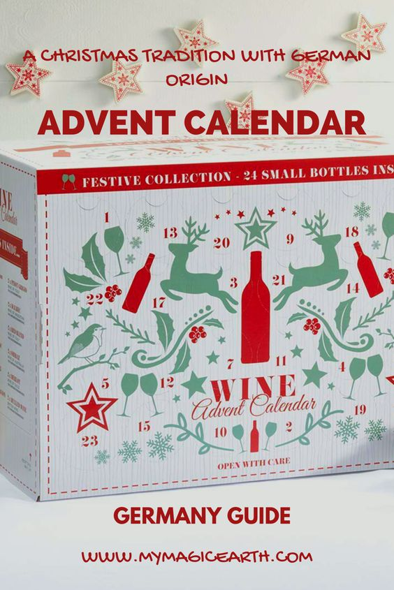 The Advent Calendar has become a standard part of Christmas season in Germany nowadays.  Every year starting from November when the winter holiday season approaches, many shops in Germany start to sell advent calendar. #german #germany #adventcalendar #christmas #tradition #europe  #germanytravel #christmastime #travel