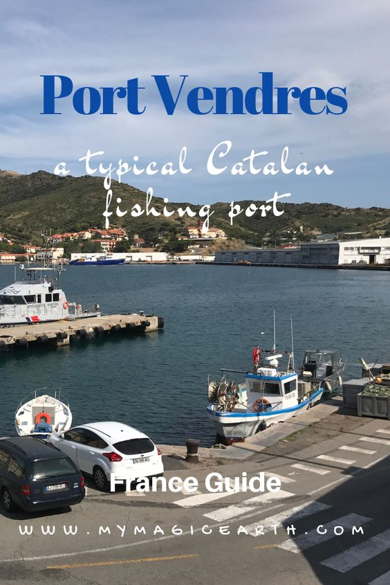 Port Vendres Is a typical Catalan fishing port, situated a few kilometres north of the Spanish border on the Côte Vermeille in south west France. #france #europe #portvendres #mediterranean #pyrenees #coast #village #traveltip #travel #travelblogger #fishingvillage #french