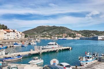 Marina of Port Vendres