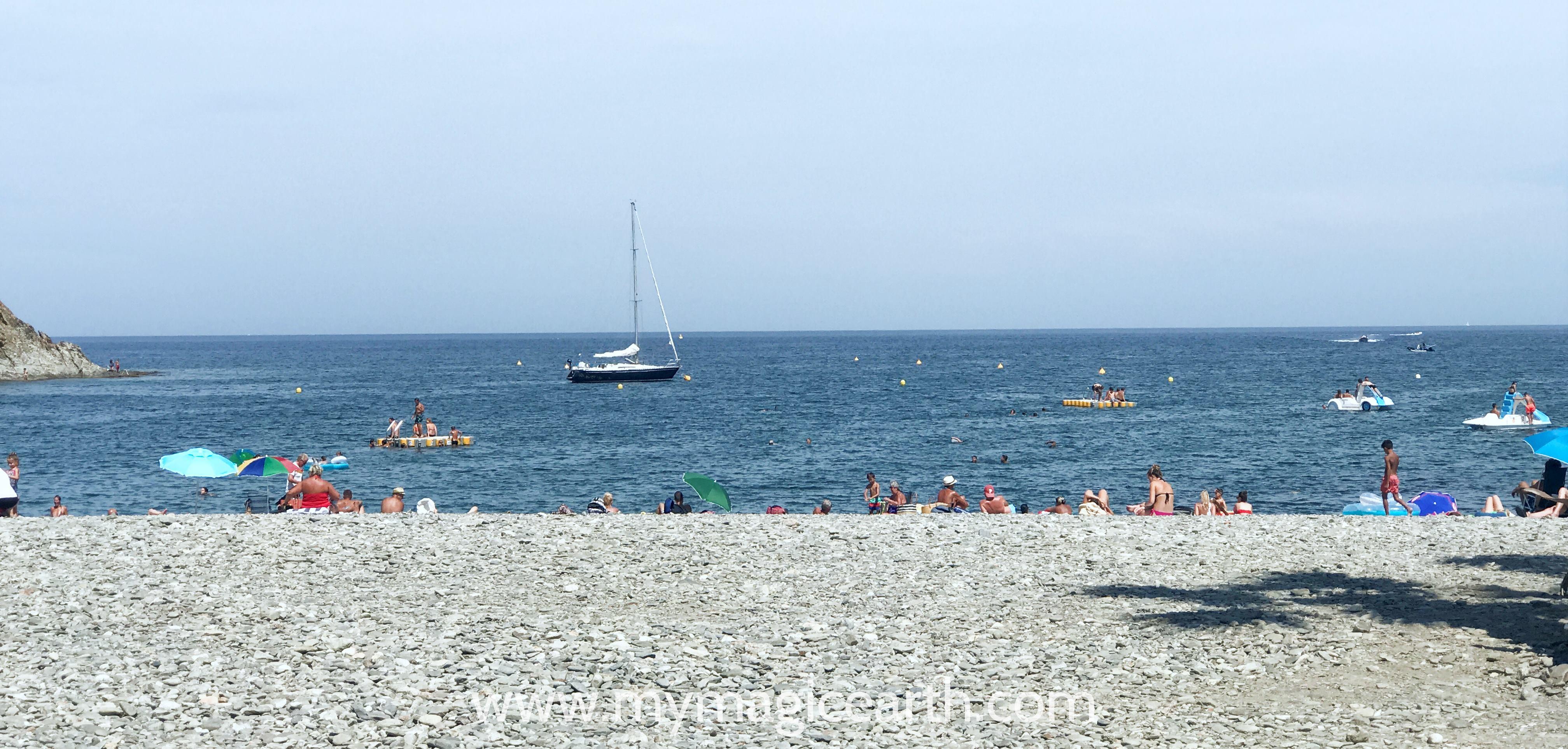 Fontaulé beach, Banyuls-Sur-Mer, France