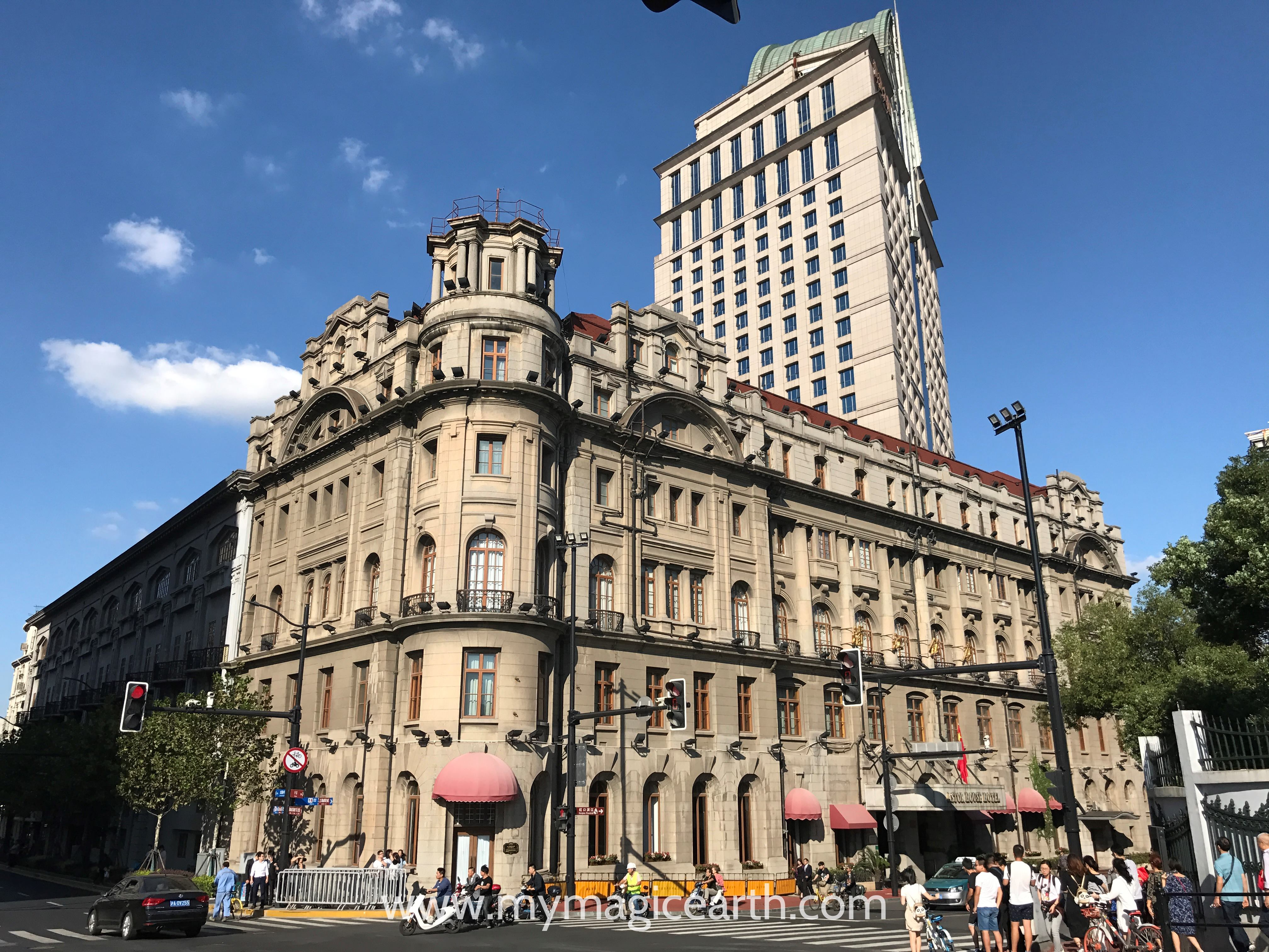 The Astor House Hotel in Shanghai