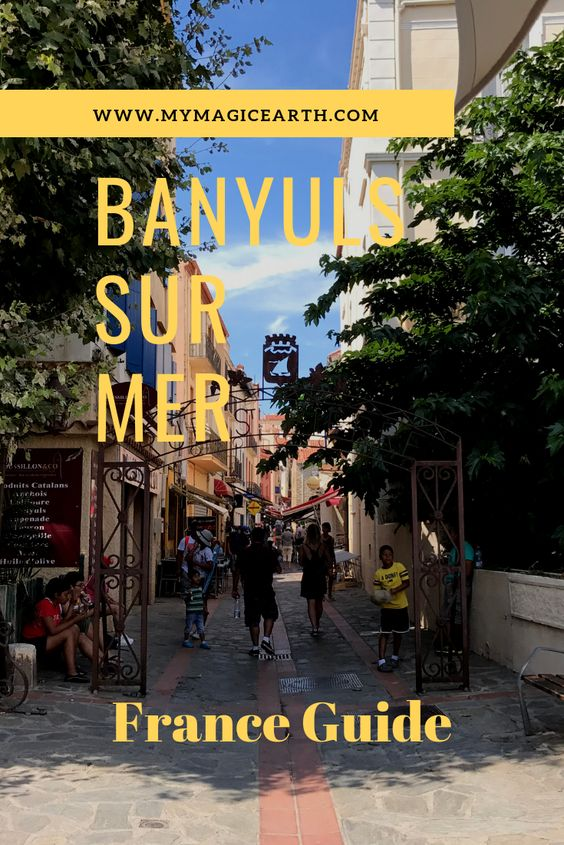 Banyuls-sur-Mer is situated on the #Mediterranean coast in Languedoc-Roussillon. It is a beach resort around a natural bay and is not far from Collioure and Port Vendres. #Banyuls #france #europe #beach #wine #traveltips #travel #solotraveler #travelblogger #destinations