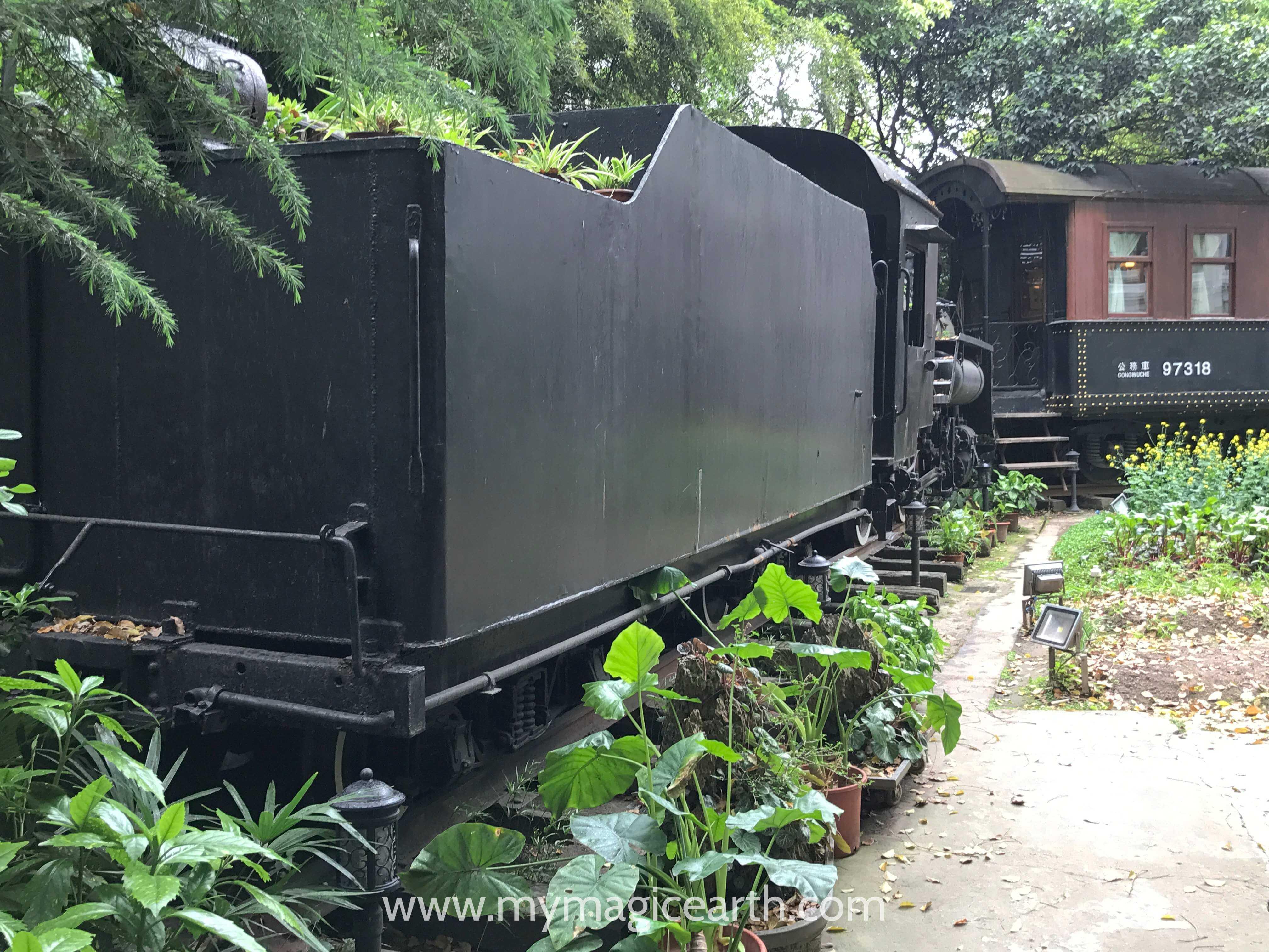 C4 narrow-gauge locomotive (C4窄轨蒸汽机车)