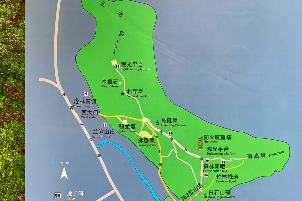 East Sheshan Park Map