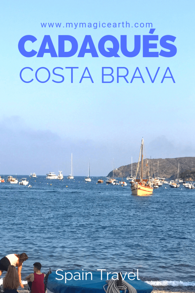 Cadaqués is one of the prettiest seaside Spanish towns on the Costa Brava of the Mediterranean, about 35 kilometres south of the French border. #spain #europe #village #costabrava #traveltips #cadaques #girona
