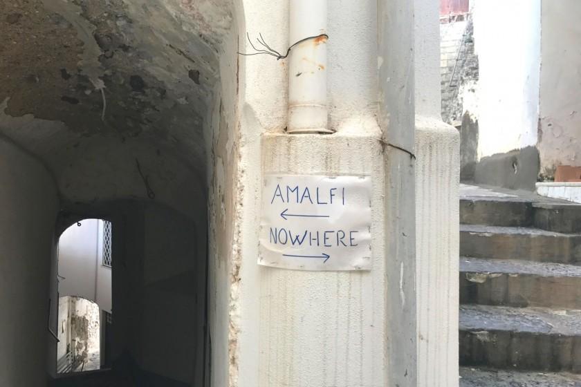 Amalfi hiking route
