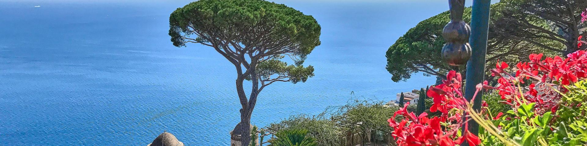 The magnificent garden in Villa Rufolo