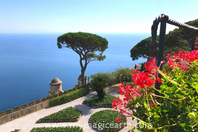 The magnificent garden in Villa Rufolo;Things to do in Ravello