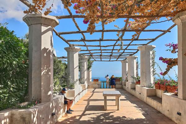 Terrace in Villa Rufolo