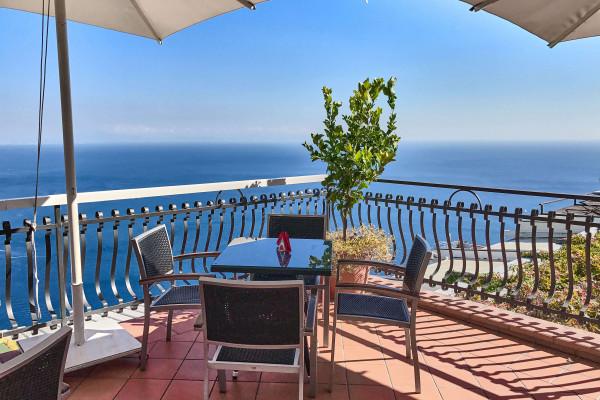 The Garden Restaurant at the hillside of the Amalfi coastline