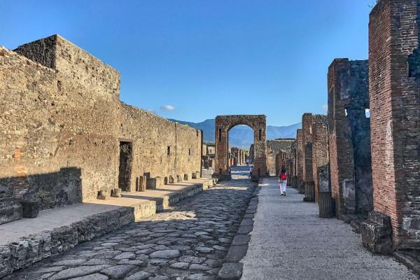 Pompeii, Amalfi coast itinerary
