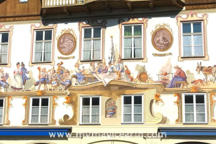 Painted façades (Lüftmalerei)