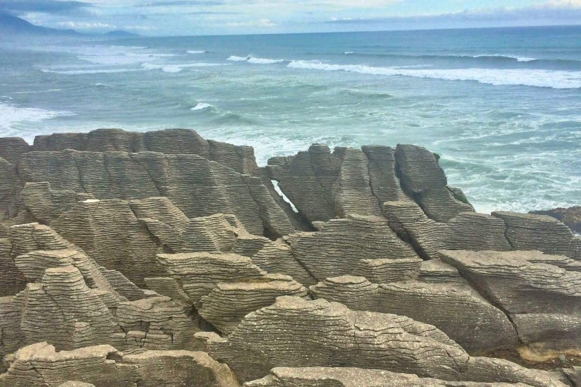 Pancake Rocks, West Coast of South Island, New Zealand