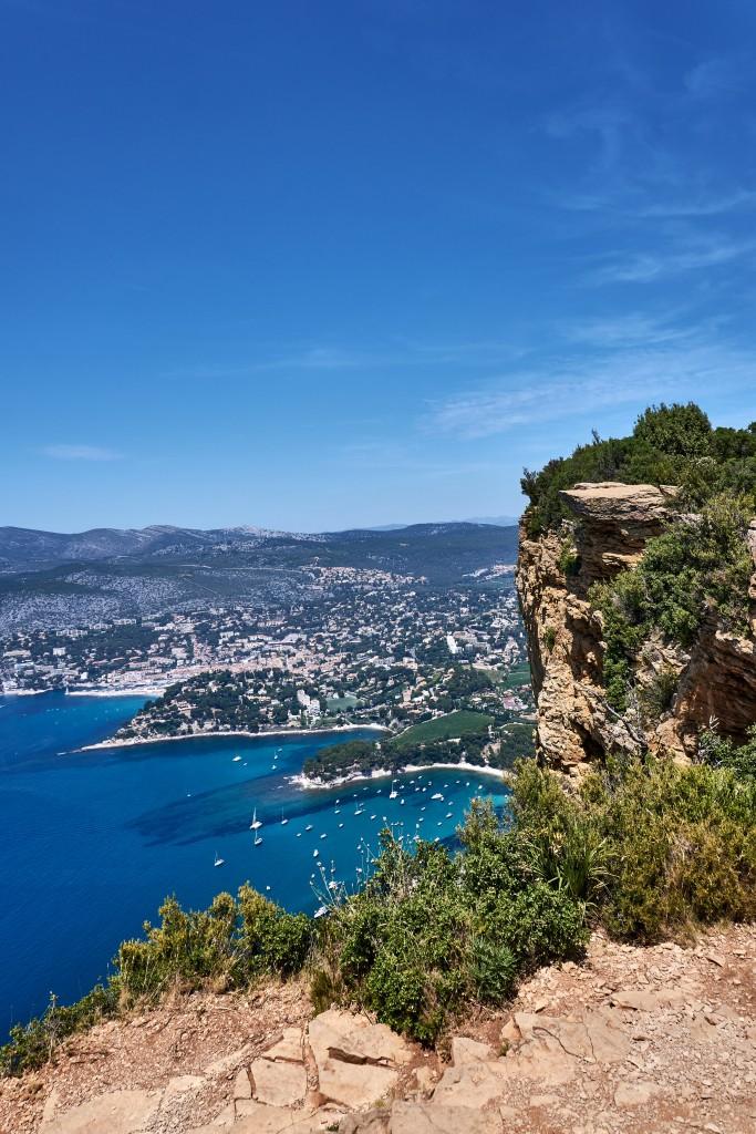 Cassis: Calanques: Route des Crêtes, a Clifftop Coastal Road between La Ciotat and Cassis